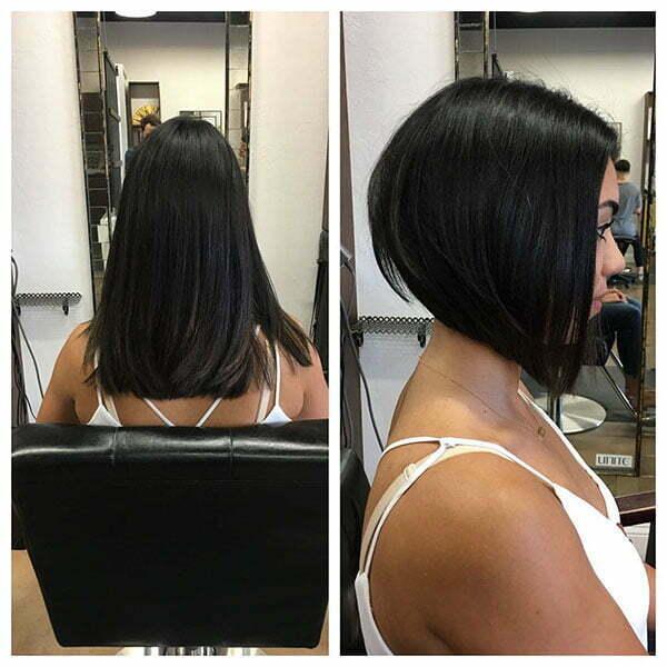 Black Bob Hair 2019