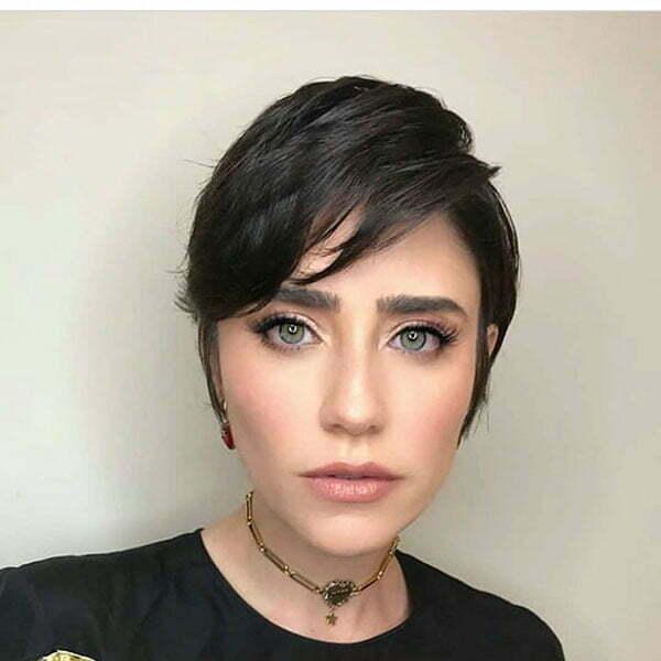Dark Pixie Hairstyles