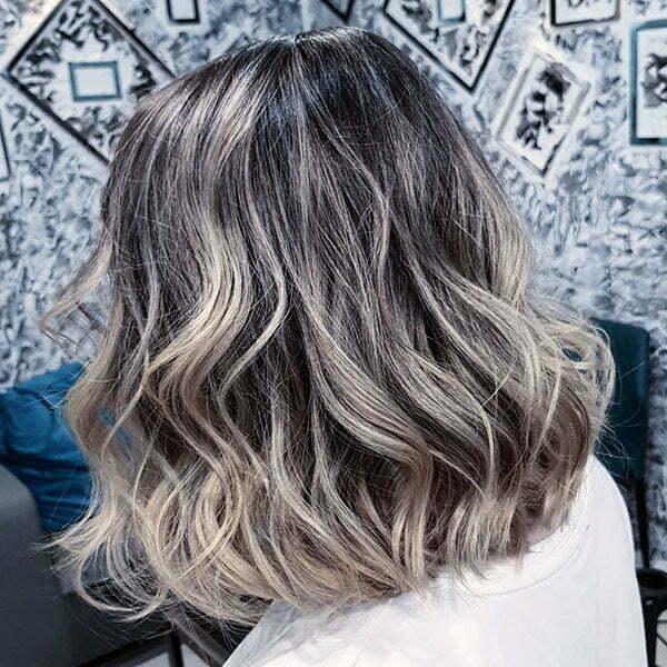 Wavy Curly Short Hair
