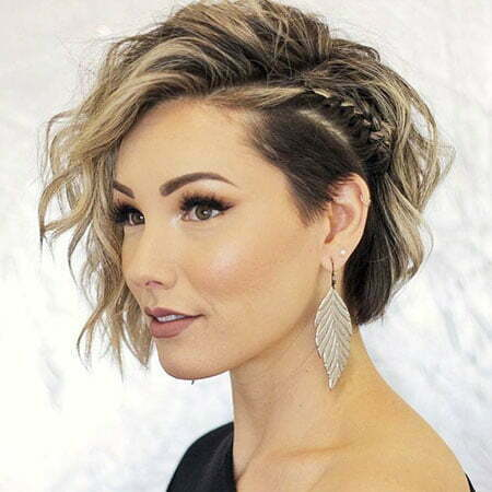 Short Braid Hairstyle 2019