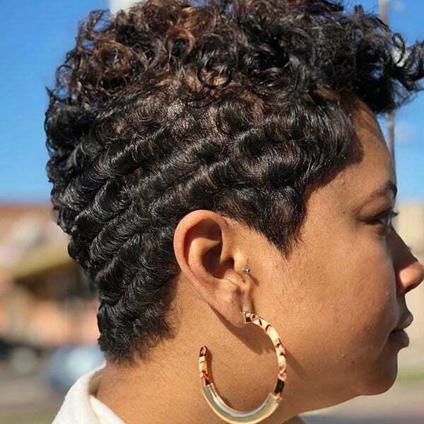 Pixie Cut Black Women 2019