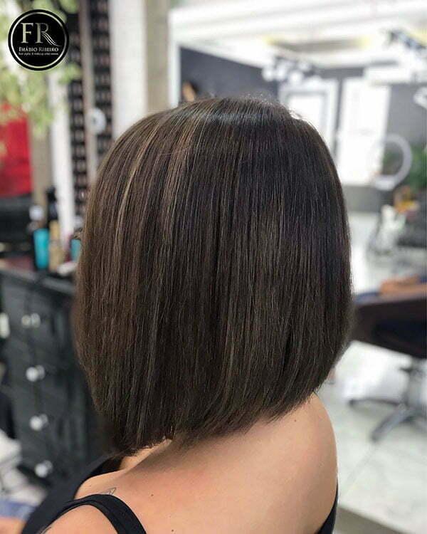 Bob Hair Back View