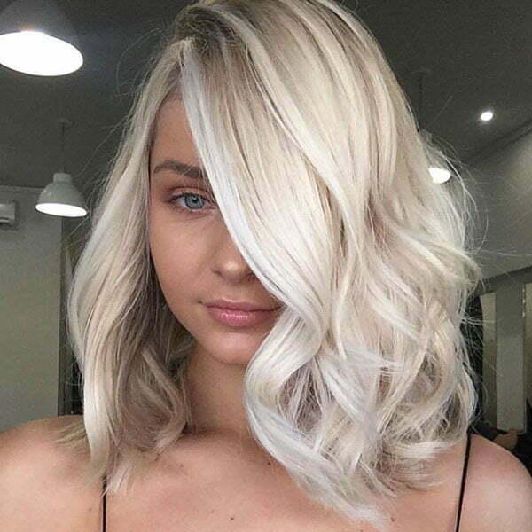 Long Blonde Bob 2019