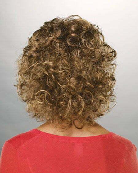 Mahogany Curly Bob