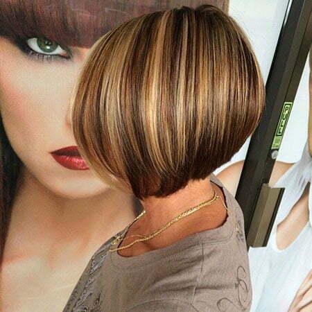 Short Bob Balayage Hairstyle