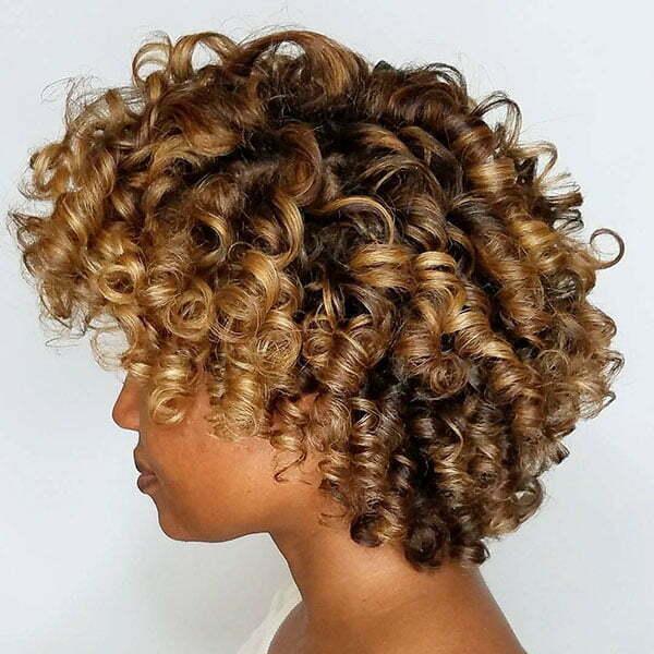 Caramel Hair Color Black Women
