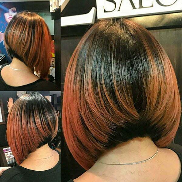 Angled Long Bob Haircuts