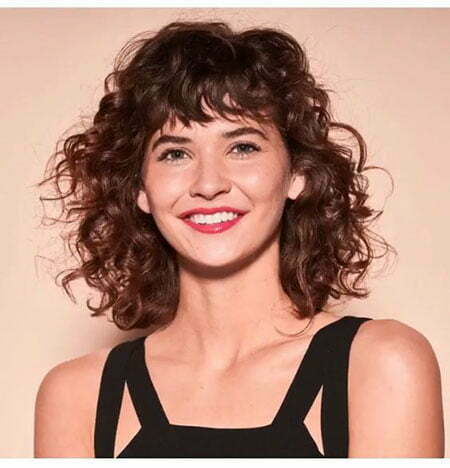 Messy Short Curly Hair