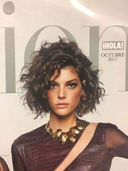 Short Curly Haircuts For Women 2019 100