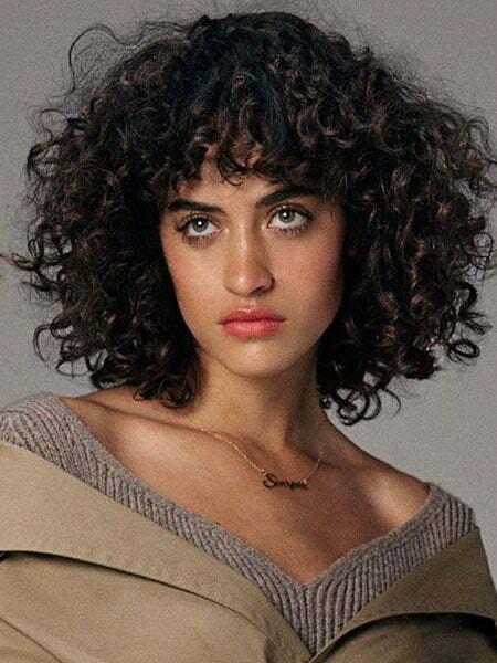 Naturally Curly Bob
