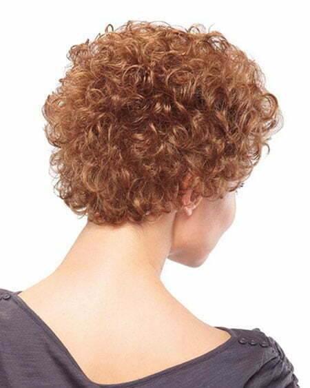 Curly Hair Back View