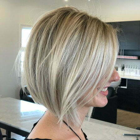 Classic Blonde Bob Hairstyle