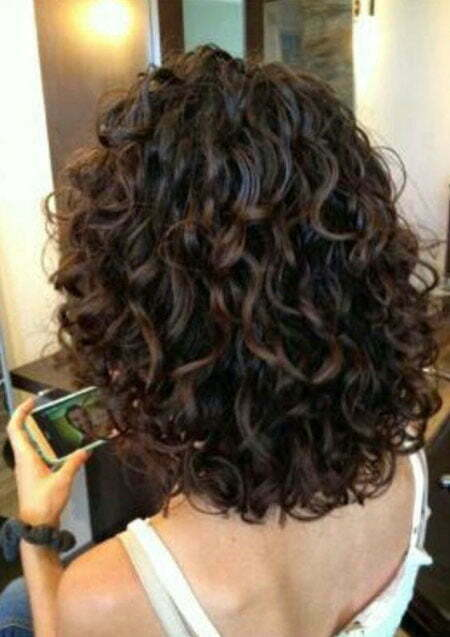 Curly Hair Layers Short