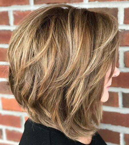 Layered Bob Thick Hair 2019