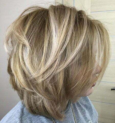 Blonde Balayage Bob Hairstyle