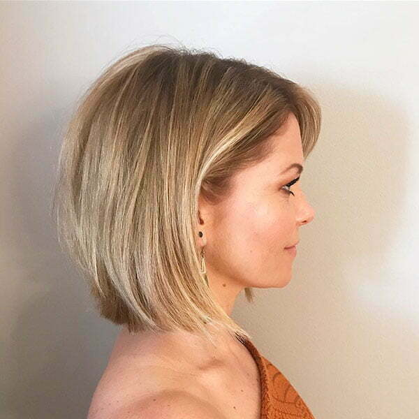 Blonde Bob Haircuts For Women