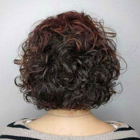 Body Perm Short Hair