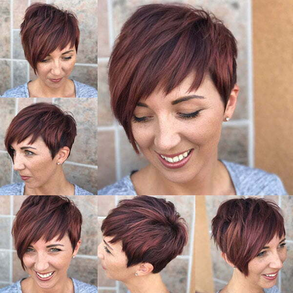 Layered Pixie Cuts