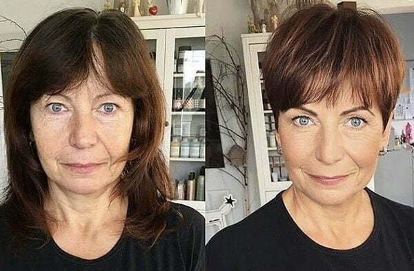 28 Best Short Hairstyles For Older Women In 2019
