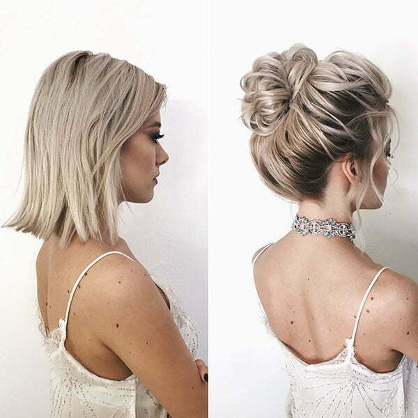 40 Wedding Hairstyles For Short Hair Short Haircut Com