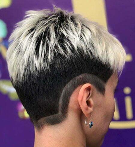 Short Hair Shaved Sides