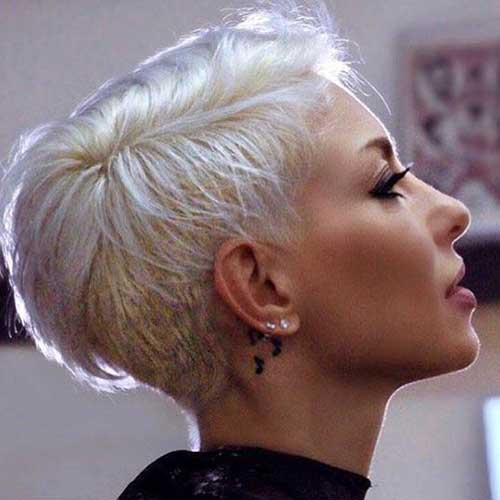 Hairstyles for Girls with Short Hair-11