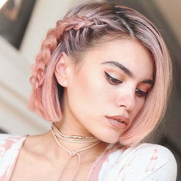 Coole Zöpfe für kurzes Haar