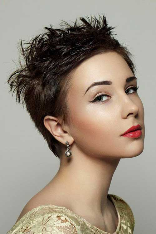 Cute Hairstyles for Girls with Short Hair-12