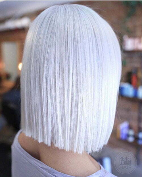 Einfache, kurze Frisuren