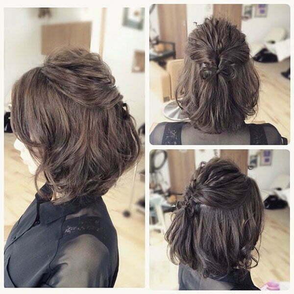 Hübsche Zöpfe für kurzes Haar