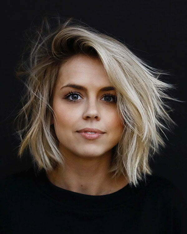 Short Cute Blonde Haircut