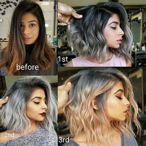 Kurze Haarideen