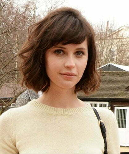 6386016cd285d1 55 Best New Short Hair with Side Swept Bangs