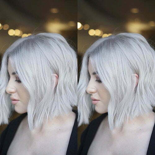 Leichte kurze Frisuren