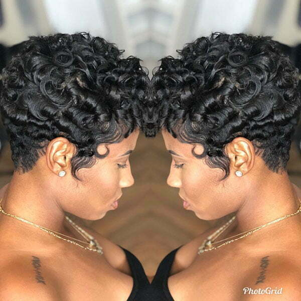 Short Haircuts For Black Women With Curly Hair