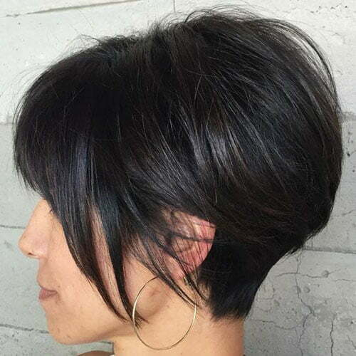 Short Hairstyles for Thick Hair-16