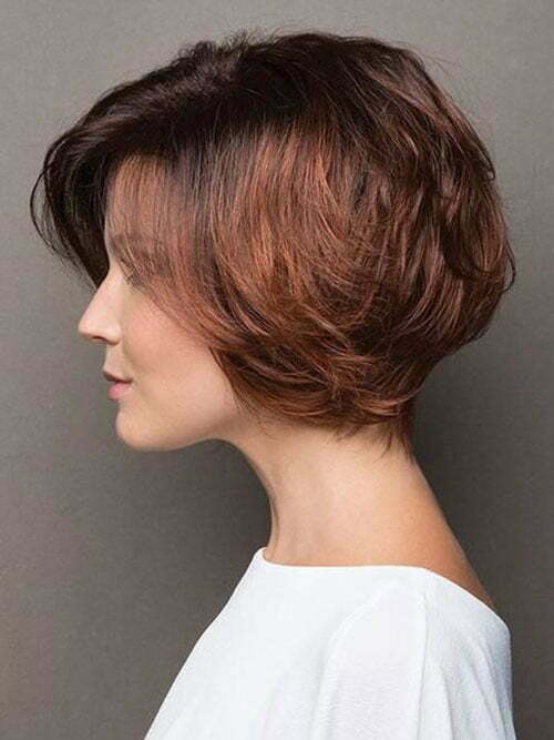 Short Hairstyles for Thick Hair-17