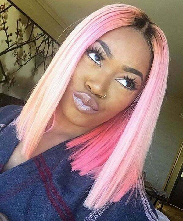 Shoulder Length Hairstyles 2019 Black Female 49