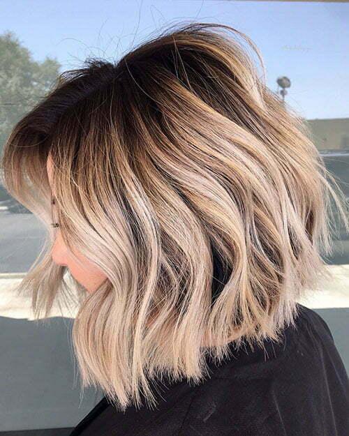 Trendy Kurze Frisuren