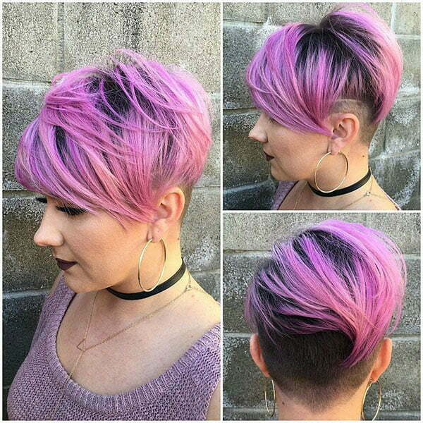 30 Shaved Sides Haircut Female Ideas In 2019