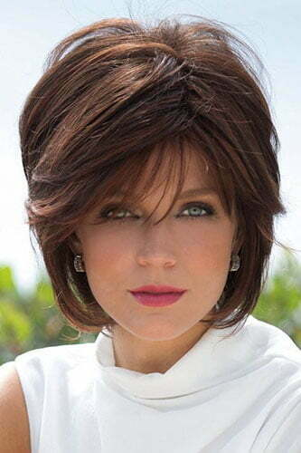 Short Layered Hair With Side Bangs