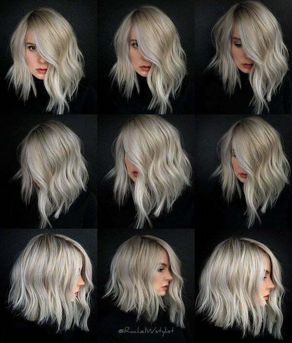 Wavy Short Hair 2019