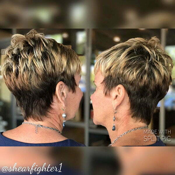 Older for ladies hairstyles short Short Haircuts
