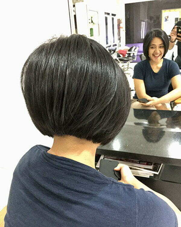 Short Bob Back View
