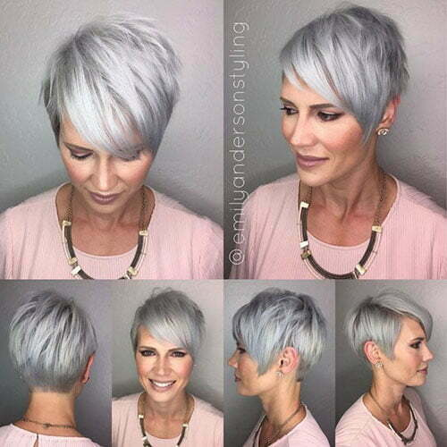 Short Hair For Women With Bangs