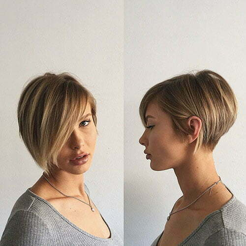55 Best New Short Hair With Side Swept Bangs