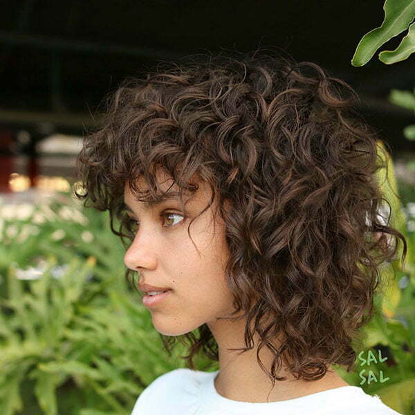 shaggy haircuts for 55 popular curly hair ideas hairstyles 2018 5864