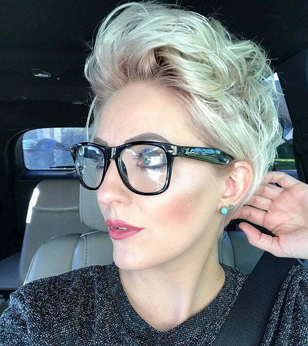 Womens Short Blonde Hairstyles