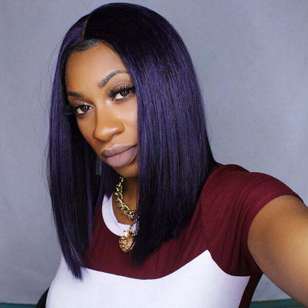 Shoulder Length Bob Black Women