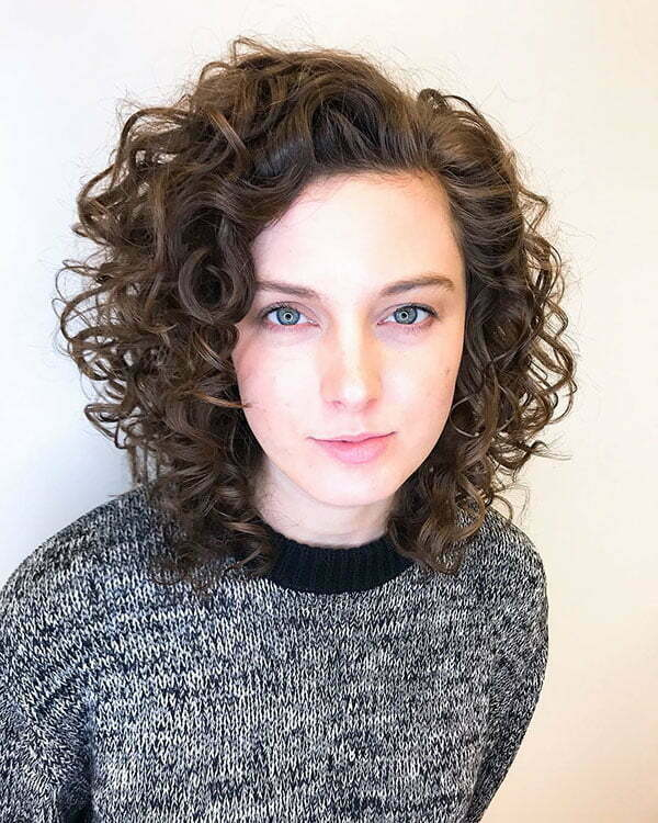 Short Brown Curly Hair
